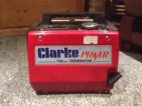 Compact Generator Clarke 700 £55o.n.o