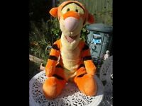 HUGE TIGGER SOFT TOY. OFFICIAL FISHER PRICE LARGE FREESTANDING TOY. NURSERY. BEDROOM. COLLECTABLE