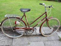 Vintage Raleigh ladies Transit bike