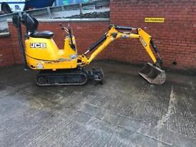 2014 JCB 8008 CTS MICRO DIGGER FOR SALE £7500 NO VAT!!