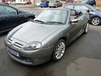 MG TF 1.8 135 Spark Metallic Grey, Excellent condition, 44200 miles