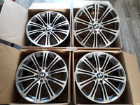 "BRAND NEW 19"" INCH ALLOY WHEELS ALLOYS BMW M3 V8 E90 E92 E93 E60 F10 F25 F26 3 4 5 SERIES X1 X3"