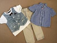 Boys 2-3 Years Summer Clothes Bundle (M&S, Next)