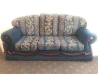 Excellent condition 3 seater & 2x 1 seater sofa