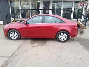 2014 Chevrolet Cruze 1LT   100% APPROVALS 10K CASH BACK oac Edmonton Edmonton Area image 1