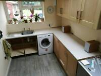 Kitchen worktop, sink and taps for sale
