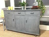 SIDEBOARD/Chest FREE DELIVERY LDN🇬🇧Grey Paris