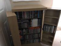 NEXT Opus corner TV unit & tall DVD storage unit
