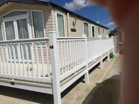Static caravan, 2 bedroom, sleeps 6, sited at Witton Castle, Bishop Auckland. 4 yrs old, as new.