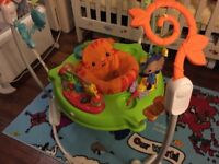 Fisher Price jumperoo like new!