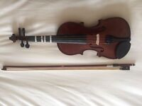 Student Violin (1/2 size with bag) - Good condition