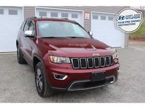 2018 Jeep Grand Cherokee Limited! LEATHER! SUNROOF! REMOTE START