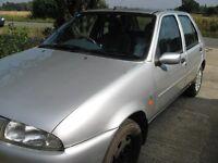 Ford Fiesta Ghia 1.25 Zetec , P Reg, Ideal 1st car / Learner