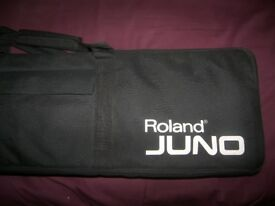 Roland Juno , Original Padded Gig Bag. / As New !