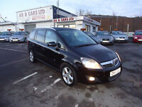 VAUXHALL ZAFIRA SRI 1.9 CDTI 7 SEATS 6 SPEED GEARBOX TOP CONDITION COME WITH 3 M NATIONWIDE WARRANTY