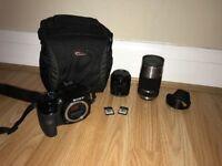 Sony Alpha A3000 20.1MP DSLR Camera with 18-55mm Lens Kit