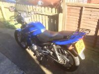 (SOLD) 64 Plate Honley HD1 125cc Motorcycle. Low mileage in great condition.