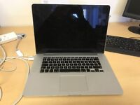 Apple MacBook Pro - 15in - Core i7 2.2GHz - 256GB SSD - 16GB RAM - 3 Months Warranty - Excellent