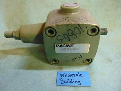 Racine Vane Pump Pvcpssf09erm01 20251431 Cr 8646 In Out 12 Shaft 34 Cw