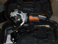 mitre saw and hand saw