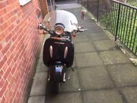 Tommy bike 125cc LOW MILEAGE £500