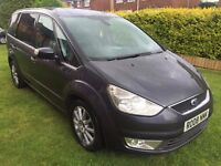 Fantastic Value 2008 Ford Galaxy 1.8 Tdci Ghia 7 Seater MPV Top Spec with Full Leather 107000 Miles!