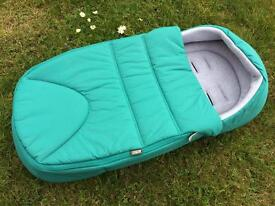 Mamas and Papas newborn cocoon prom cosy- compatible with many pushchairs
