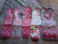 Baby girl clothes size 12-18mt