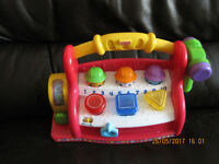 Fisher-Price Laugh & Learn Learning Tool Bench, Teaches colours, shapes, ABC's - FABULOUS!