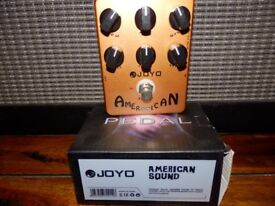 Joyo American Guitar pedal .for that classic sound