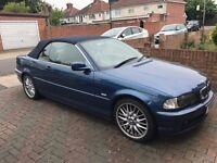"""Good condition, BMW 3 Series convertible, bluetooth, 18"""" MV alloys, Memory D.Seats, 1 previous owner"""