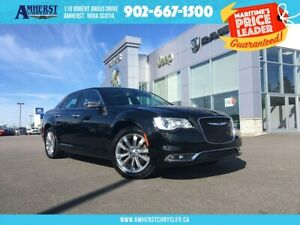 2018 Chrysler 300 AWD, MOONROOF, HEATED/COOLED SEATS, LEATHER