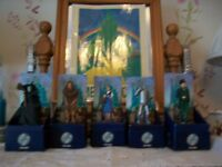 6 Corgi Icon die cast figures Complete set