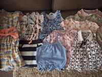 Bundle of Girls Summer Clothes Age 4-5 Next, H&M, Marks & Spencer etc 12 Items