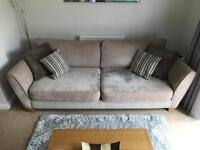 4 Seater Full Back Sofa, Foam Seat (Sofology)