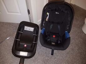 Silver Cross 1st car seat and isofix base sold together or separate