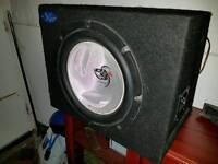 Kenwood sub and amp combo