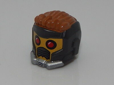 Lego Minifigure Head Piece Super Hero Guardians of Galaxy Star-Lord Helmet - Super Hero Star