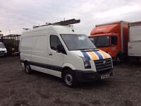 2008 vw crafter cr35 mwb high roof