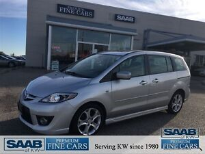 2008 Mazda MAZDA5 ONE OWNER ACCIDENT FREE LOW KM'S GT LEATHER PO