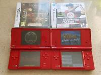 2x Nintendo DSi consoles with games