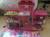 Lego Megablocks barbie mansion