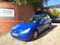 Peugeot 307 2.0 HDi S 5dr (a/c) BARGAIN FAMILY DIESEL