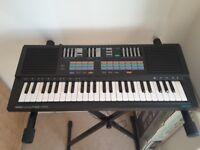 Yamaha Keyboard £20 + Stand £10