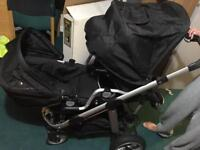 Icandy apple2pear twin buggy(free delivery)