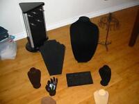 jewellry display lot plus ring sizer