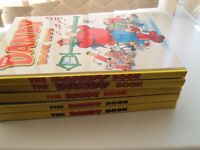 FIVE DANDY ANNUALS 1990s in first class condition FULL SPINES NOT PRICE CLIPPED AS NEW