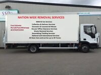 Urgent CHEAP House Office Waste Clearance Moving Furniture Man & Van Hire UK Europe Removal Service