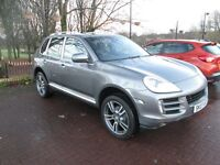 PORSCHE CAYENNE S TIPTRONIC 3.6 V6 FACE LIFT MODEL POSS SWAP
