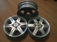 Suzuki 14 inch alloy wheels. 3 of brand new